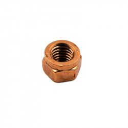 910 TURBO/EXHAUST FLANGE M8 NUT (COPPER COATED)